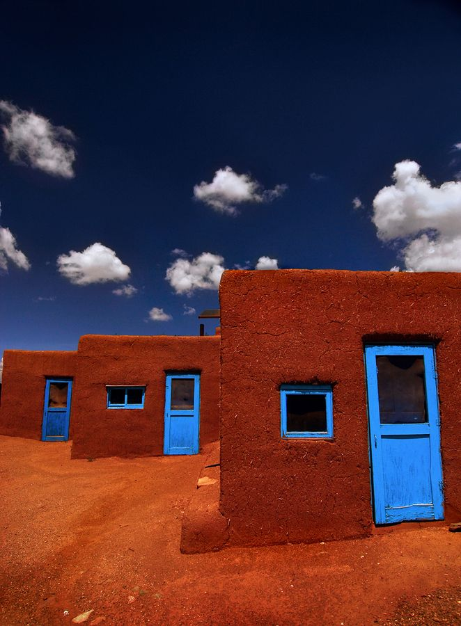 Three Doors of Taos - Taos is one of my favorite places in the world! by Christian von Schleicher, #taos #newmexico