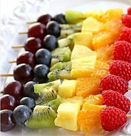 Fruit Skewers... Happy Hour Appetizers 17 | Hampton Roads Happy Hour - https://www.facebook.com/different.solutions.page
