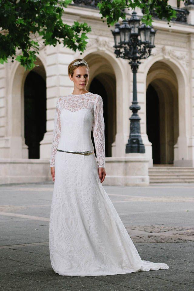 Fein Jessica Mcclintock Vintage Brautkleider Galerie - Brautkleider ...