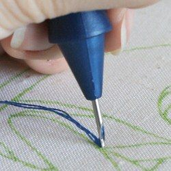 Punch Needle Tutorial - this is a lovely craft for small designs...