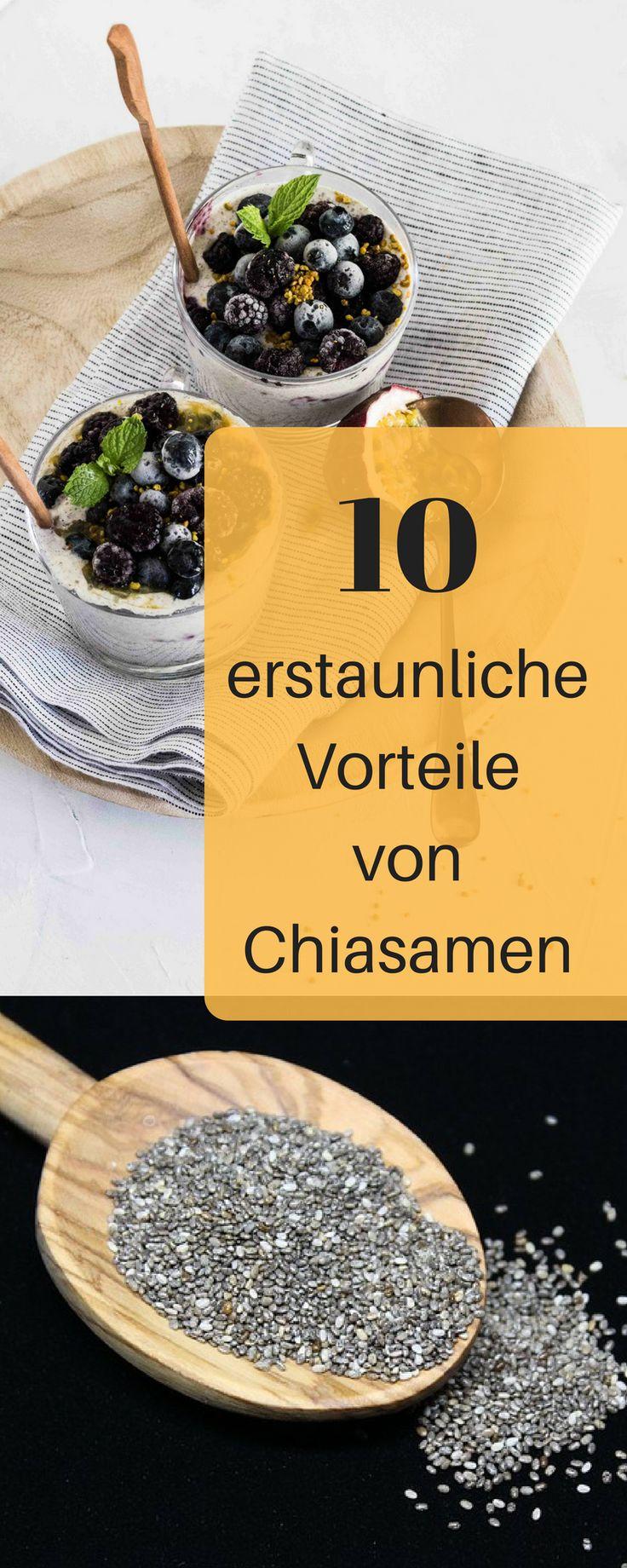 Chiasamen haben eine erstaunliche Wirkung. Man kann mit Chiasamen abnehmen, eine Darmreinigung machen und sie helfen bei unzähligen Krankheiten. Chiasamen Rezepte, Chiasamen Brot, Chiasamen gesund, Chiasamen Pudding, Chiasamen Frühsück, Chiasamen trinken, Chiasamen Zubereiten, Chiasamen giftig, Chiasamen zum Abnehmen Frühstück