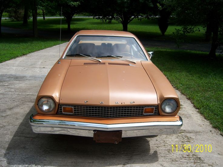 1976 ford pinto | 1976 Ford Pinto: 1976 Ford Pinto The day it arrived
