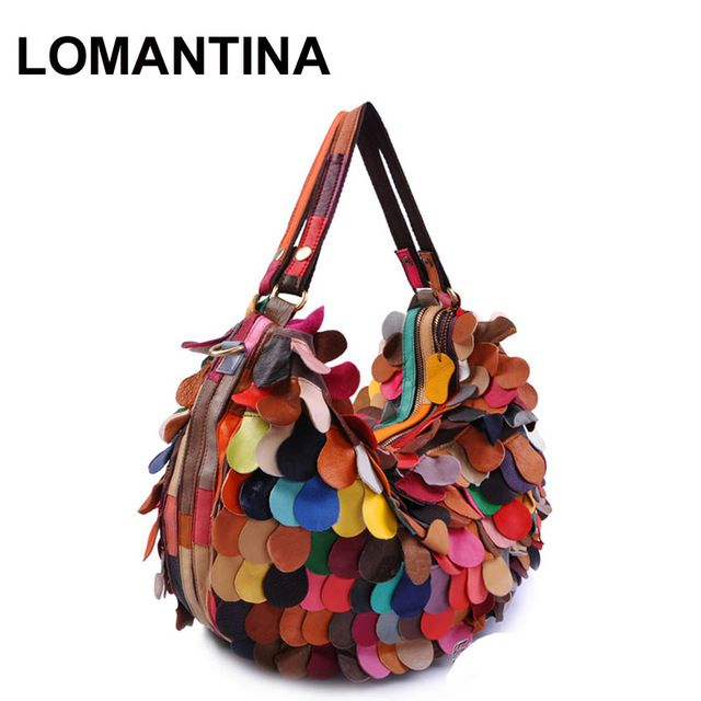 Good price New Stylish Genuine  Leather Women Handbags Brand Ladies Tote Patchwork Bags Popular Handbags Free Shipping just only $40.70 with free shipping worldwide  #womantophandlebags Plese click on picture to see our special price for you