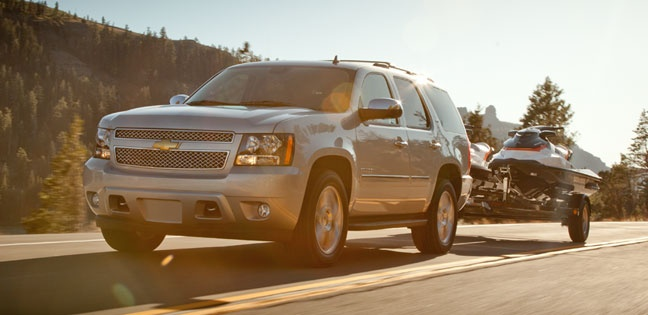 Chevy Tahoe. Perfect road warrior.