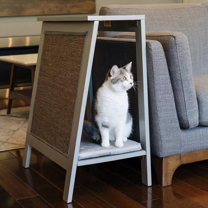Diy Cat Bed, Cool Cat Beds, Pet Beds Diy, Cat House Diy, Cat Cages, Cat Scratcher, Cat Room, Cat Decor, Pet Furniture