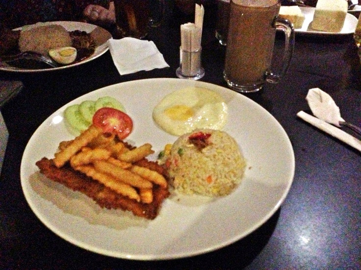 Fish and Chips @ Pappajack Kopitiam