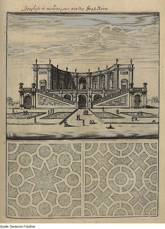 Bocklers Pleasure Garden Plans  The Public Domain Review