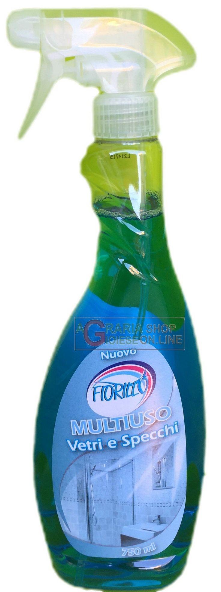 FIORILLO MULTIUSO SPRAY PRONTO USO PER VETRI E SPECCHI ML. 750 http://www.decariashop.it/detersivi/6263-fiorillo-multiuso-spray-pronto-uso-per-vetri-e-specchi-ml-750.html