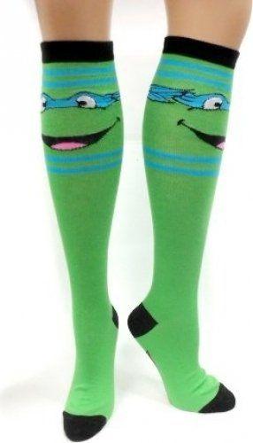 TMNT Teenage Mutant Ninja Turtles Knee High Socks $9.99 (50% OFF)
