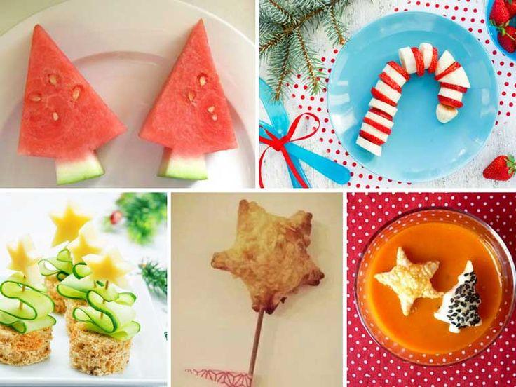 Kerstmenu voor kinderen: lekkere kerstrecepten voor kinderen - voorgerecht, hoofdgerecht en nagerecht.