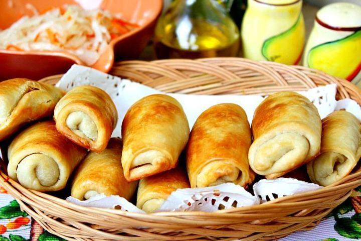 Вэрзэре - молдавские пироги с капустой