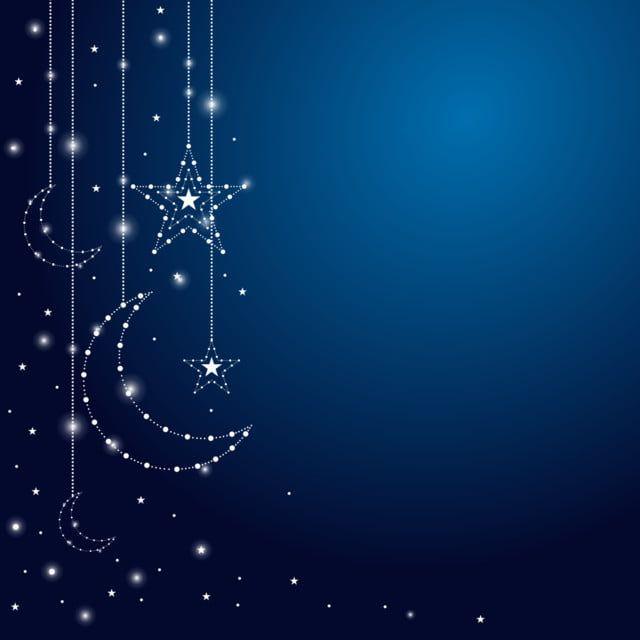 Fundo Islamico Da Lua Do Ramadan Eid Al Adha Fundo Islamico Fundo Do Ramada Eid Background Png Imagem Para Download Gratuito Latar Belakang Malam Berbintang Kertas Dinding