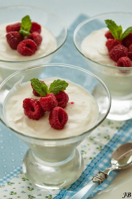 Carolines blog: yoghurt mousse met citroen