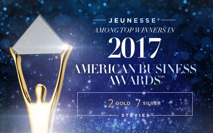 For the fourth year in a row, Jeunesse® has received top honors in the American Business Awards℠, earning two Gold and seven Silver Stevie awards in the 2017 competition, while being recognized as one of the leading multiple-award winners in this prestigious business competition. https://multibra.in/xmtgk https://multibra.in/xmtgj