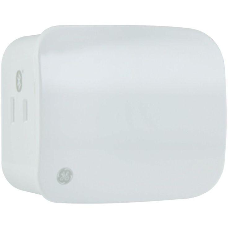 GE 13866 Bluetooth(R) Plug-In Indoor Smart Dimmer