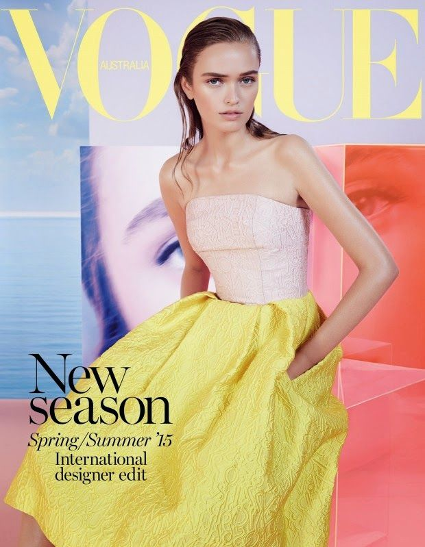 Model @ Jayne Baily & Liv O'Driscool By Nicole Bentley For Vogue Australia, May 2015