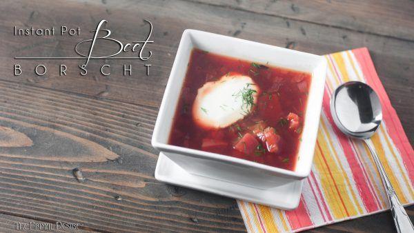 Paleo Beet Borscht – Recipes.InstantPot.com
