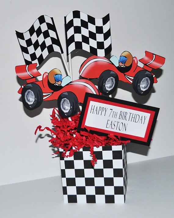 Race Car Kids Birthdays