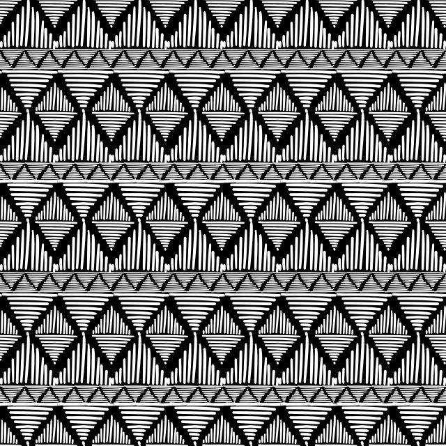 Tribal Vector Seamless Pattern With Geometric Ornament Aztec Abstract Art Seamless Mexican Pattern Png And Vector With Transparent Background For Free Downlo Abstract Seamless Patterns Geometric