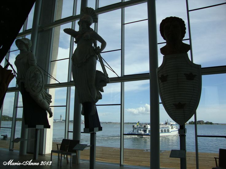 Karlskrona Marinmuseum  Galjonsbild