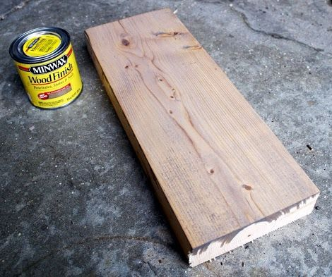 Rustic Yet Refined Wood Finish | Ana White