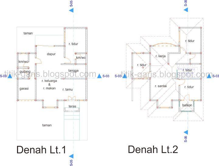 Desain Rumah 2 Lantai Di Atas Lahan 150 M2 10x15m Desain Rumah 2 Lantai Desain Rumah Rumah