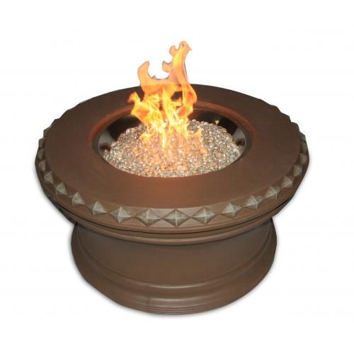 Unfinished Aztec Gas Fire Pit for $629.10 | by Outdoor GreatRoom Co.