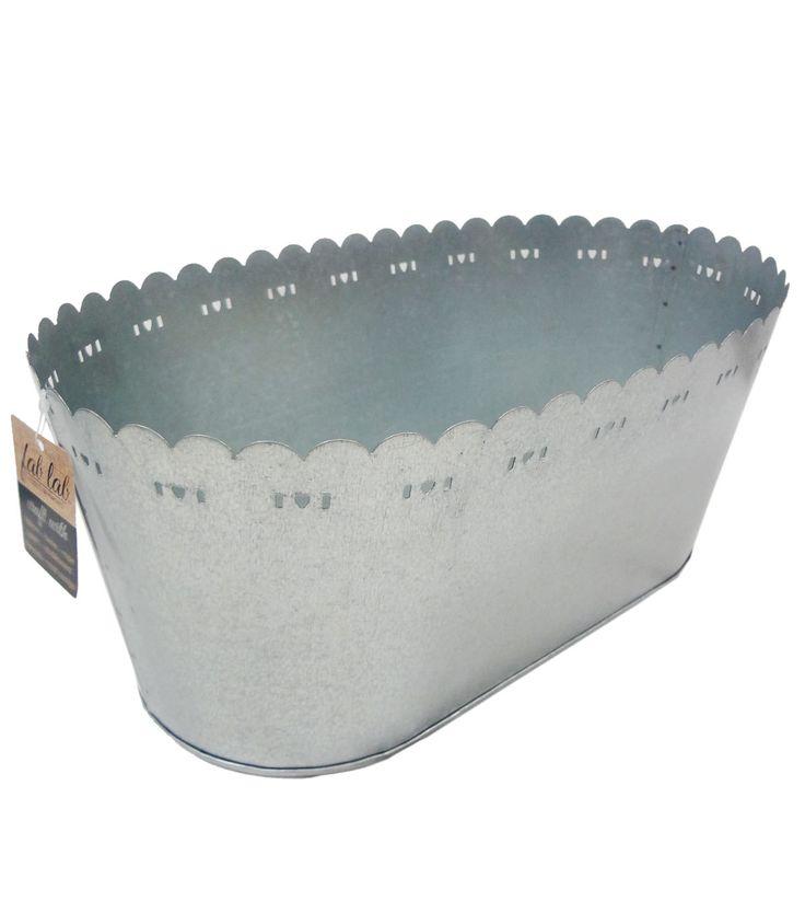 Fab Lab™ Large Galvanized Tub