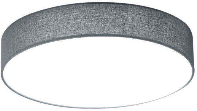 TRIO Leuchten LED Deckenleuchte, »LUGANO« für 69,99€. Inkl. energiesparende LEDs fest integriert, Stoffschirm Ø 30 cm bei OTTO