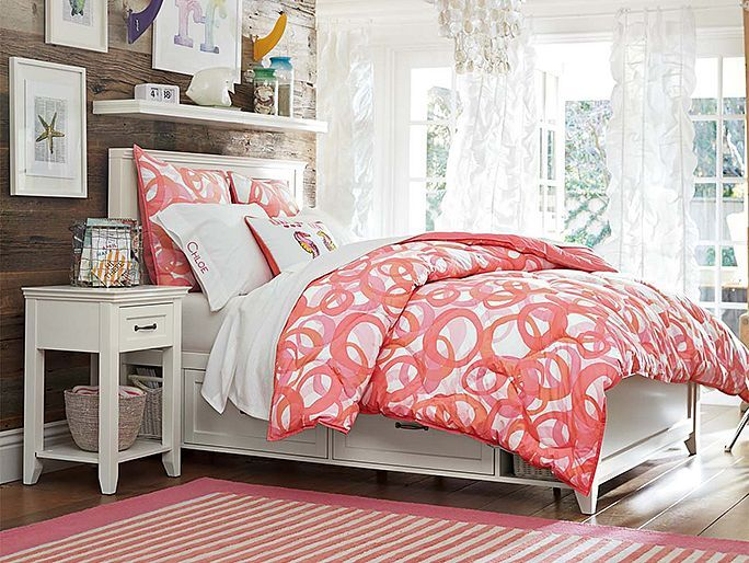 lucy rings super pouf sham warm great cheery surfers bedroom love the accent wall
