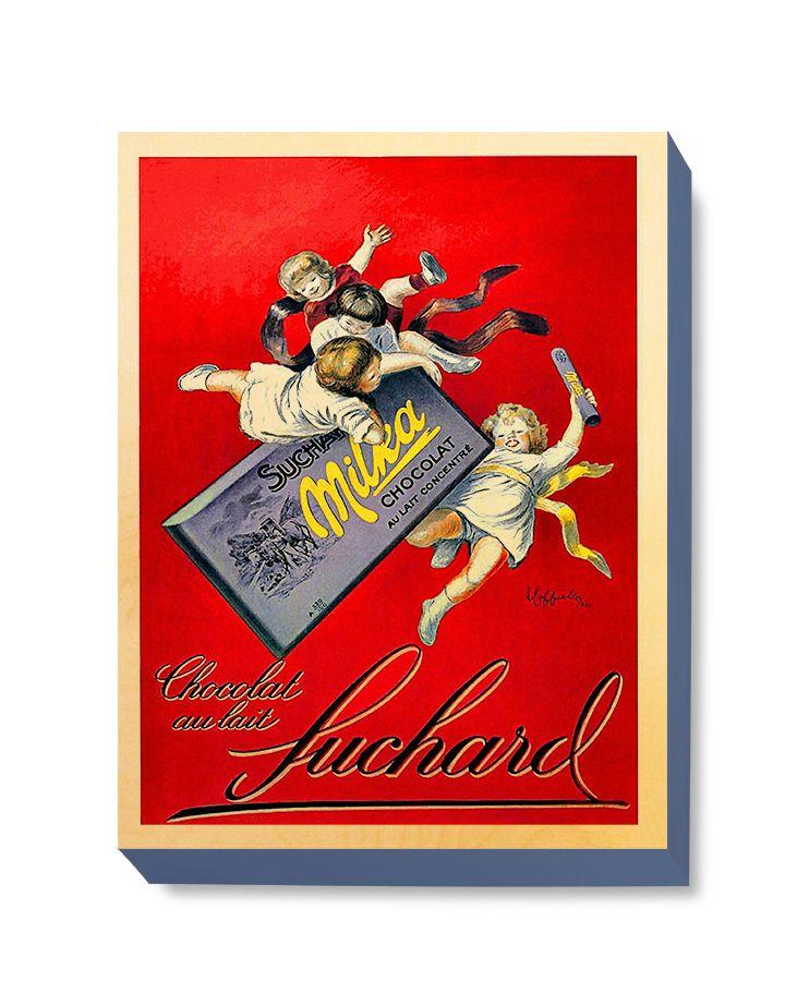 ADV 101 Advertising Art Suchard Chocolat