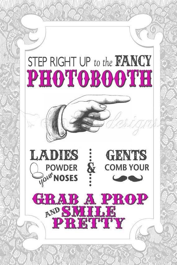 Photobooth Instructions :)