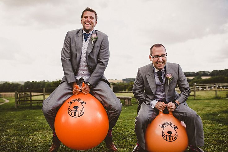 wedding games - space hoppers #rusticweddinginspiration #barnweddings