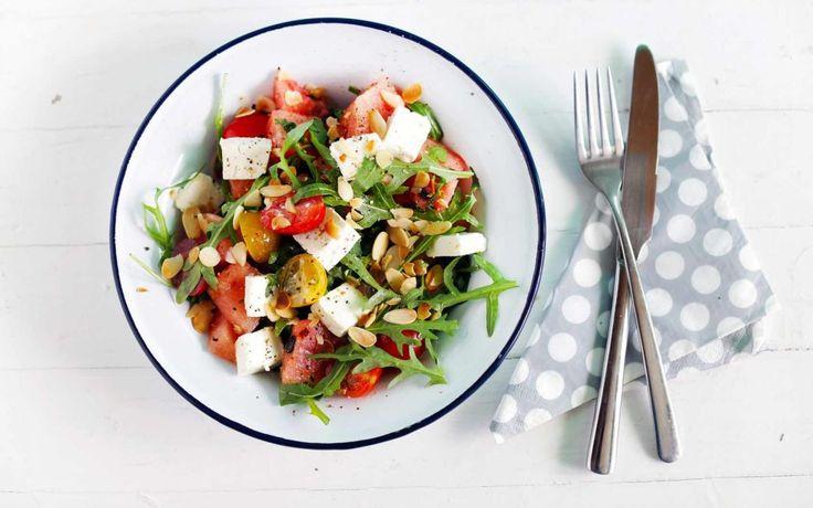 Resepti: Grillattu salaatti juhannukseksi