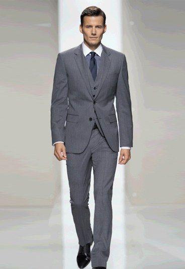 Costume Hugo Boss mariage : Costume de marié Hugo Boss - Costume de marié: Tous les costumes de marié printemps-été 2012
