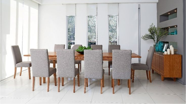 Oakdale 11 Piece Dining Setting - Dining Furniture - Dining Room - Furniture, Outdoor & BBQs   Harvey Norman Australia