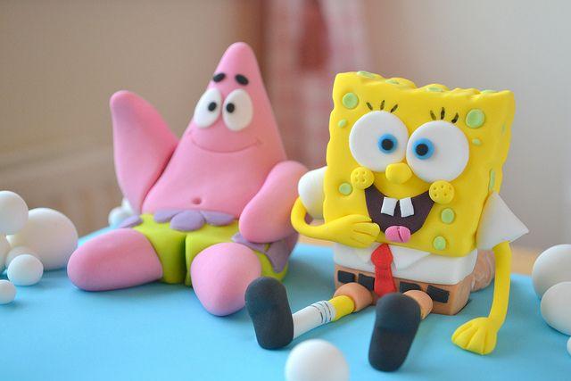 Spongbob Cake by deborah hwang, via Flickr