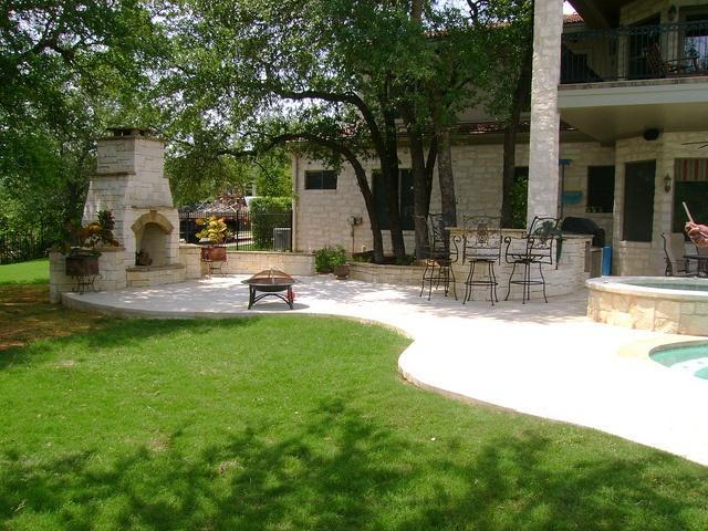 Beautiful #landscape design by DH Landscape Design #Texas