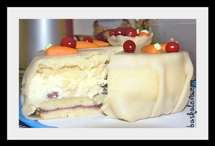 Марципановый торт с фотографиями