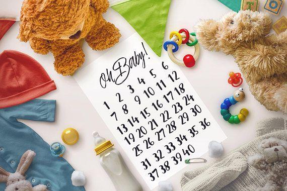 baby coming calendar count down baby calendar pregnancy milestone calendar count down pregnancy week by week weekly pregnancy calendar 07
