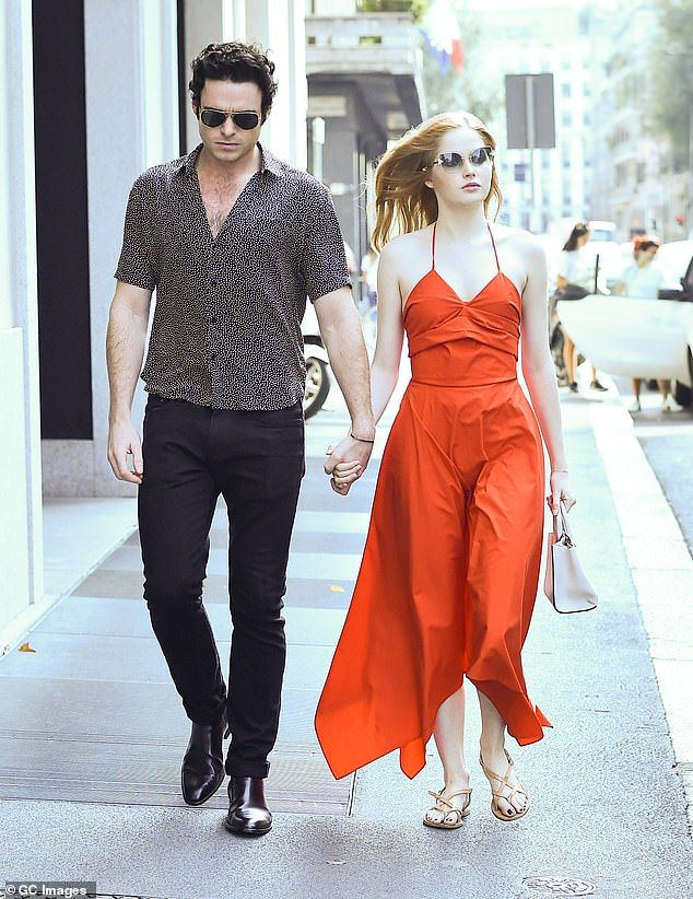 Richard Madden And Ellie Bamber Hold Hands In Milan