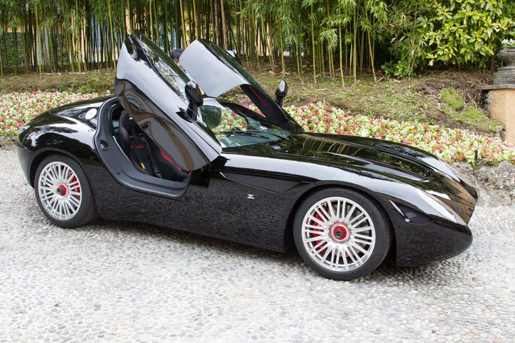 Maserati Coupe Zagato Mostro (2015 Concorso d'Eleganza Villa d'Este) imagem de alta resolução