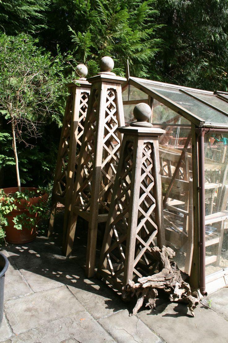 weathered obelisks