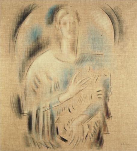 St. Cecilia - Konstantinos Parthenis