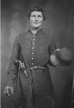 Pvt. James Pendergrast, Co. B, 161st New York Volunteer Infantry -- so RARE to see someone actually attempting a smile in Civil War period tintypes!!