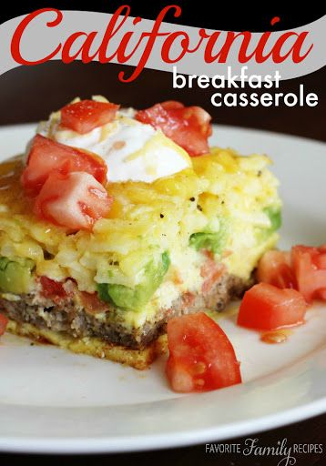 California Breakfast Casserole Recipe on Yummly