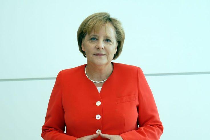 Rede Frau Merkel