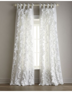 Each Julianna Ruffled Curtain, 42