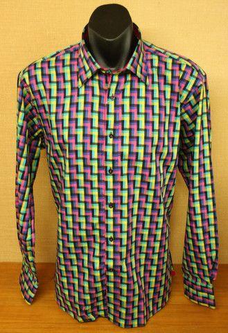 David Smith LS Shirt DS2162C Teal