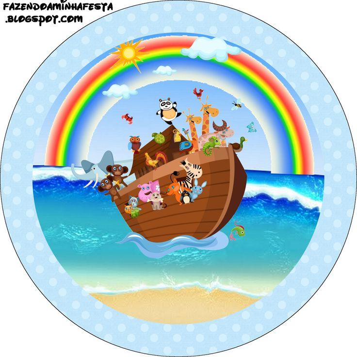 Imprimibles del Arca de Noé 3. | Ideas y material gratis para fiestas y celebraciones Oh My Fiesta!